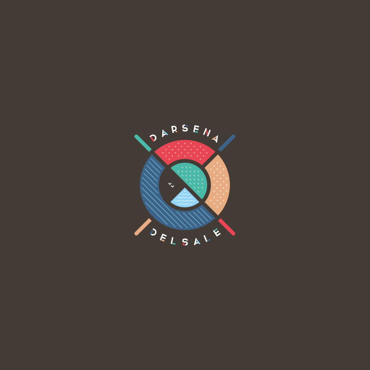Darsena Del Sale Cervia - Logo Ufficiale - Design Umberto Angelini
